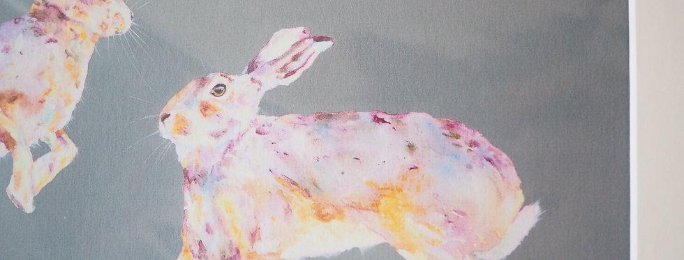 Frolicks Signed Limited Edition Irish Wildlife Artist Print