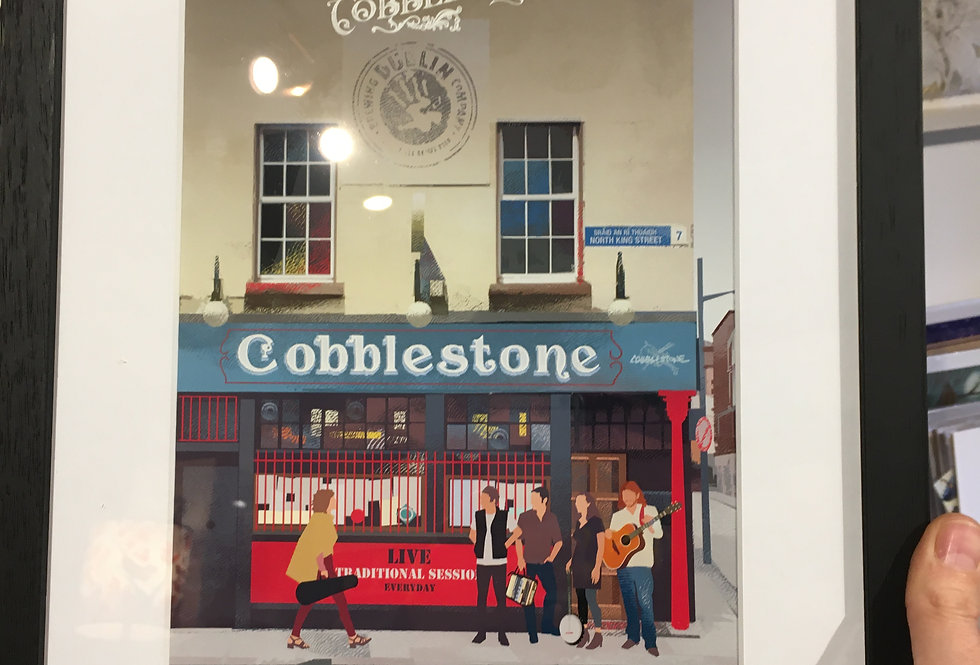 The Cobblestone - Pubs of Dublin Series- Roger O Reilly