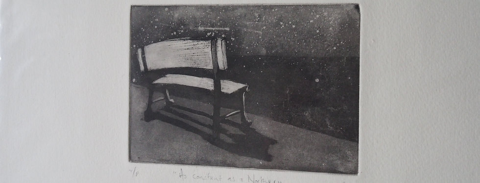 Fine Art Etching - Constant as a Northern Star Nicole Tilley