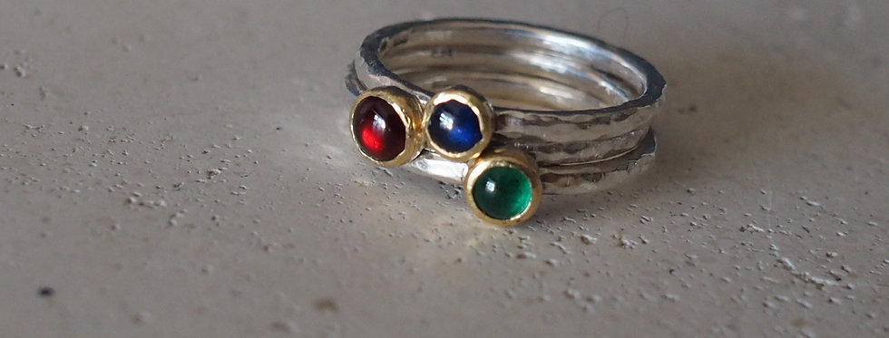 The Dreamer Stacking Rings Collection