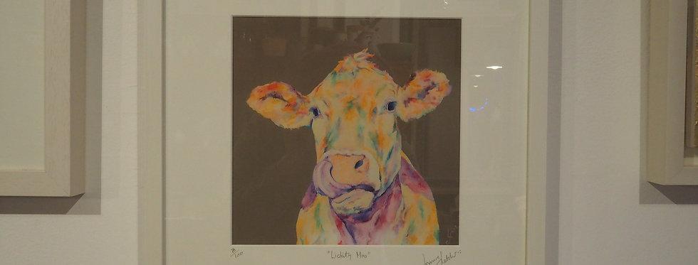 Limited Edition Irish Wildlife Signed Artist Print Framed- Lorraine Fletcher
