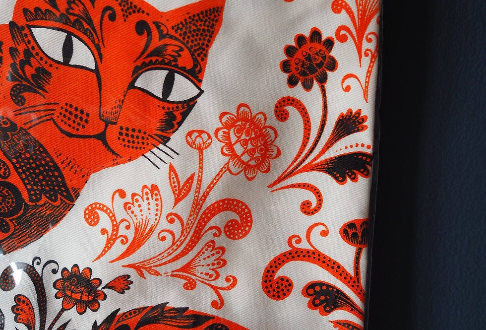 Marmalade Kitty Apron - 100% cotton