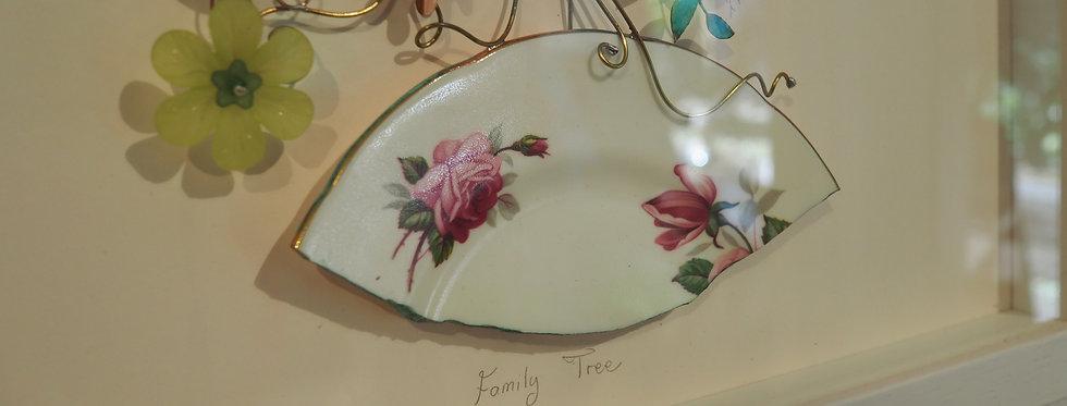 Family Tree Copper and Found Object Original ArtWork