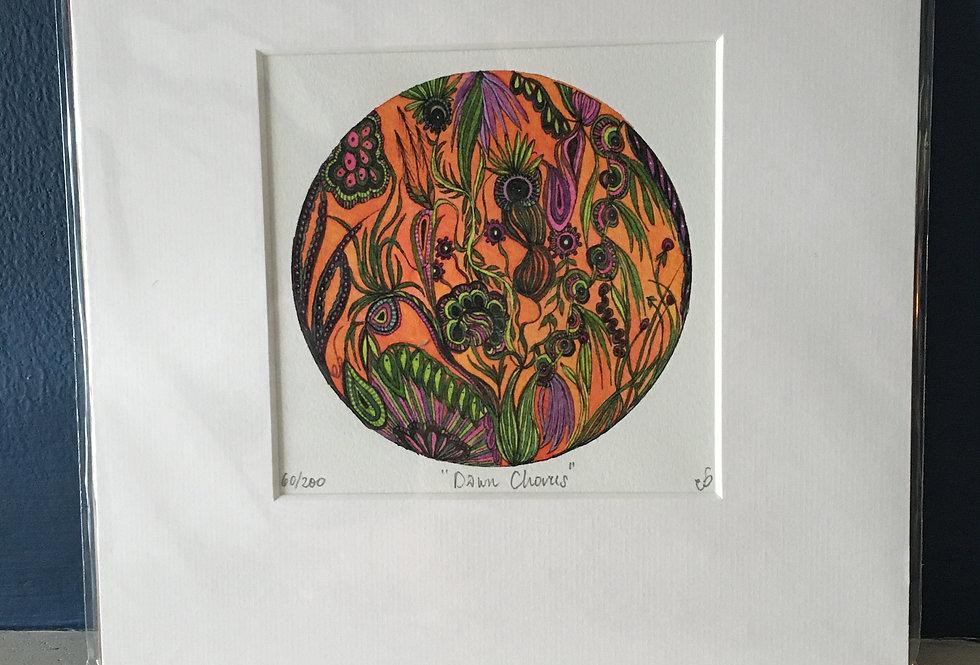 Dawn Chorus- Limited Edition Signed Artist Print- Eimear Brennan