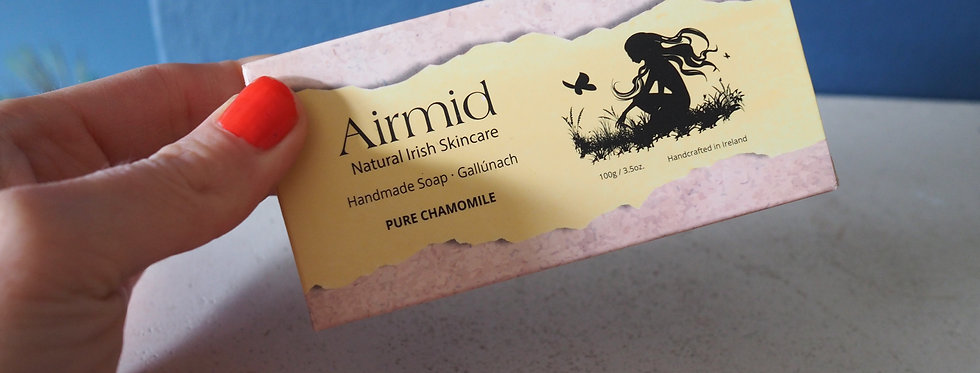 Irish Natural Handmade Soap- Chamomile