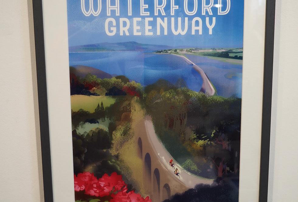 Waterford Greenway Framed Print