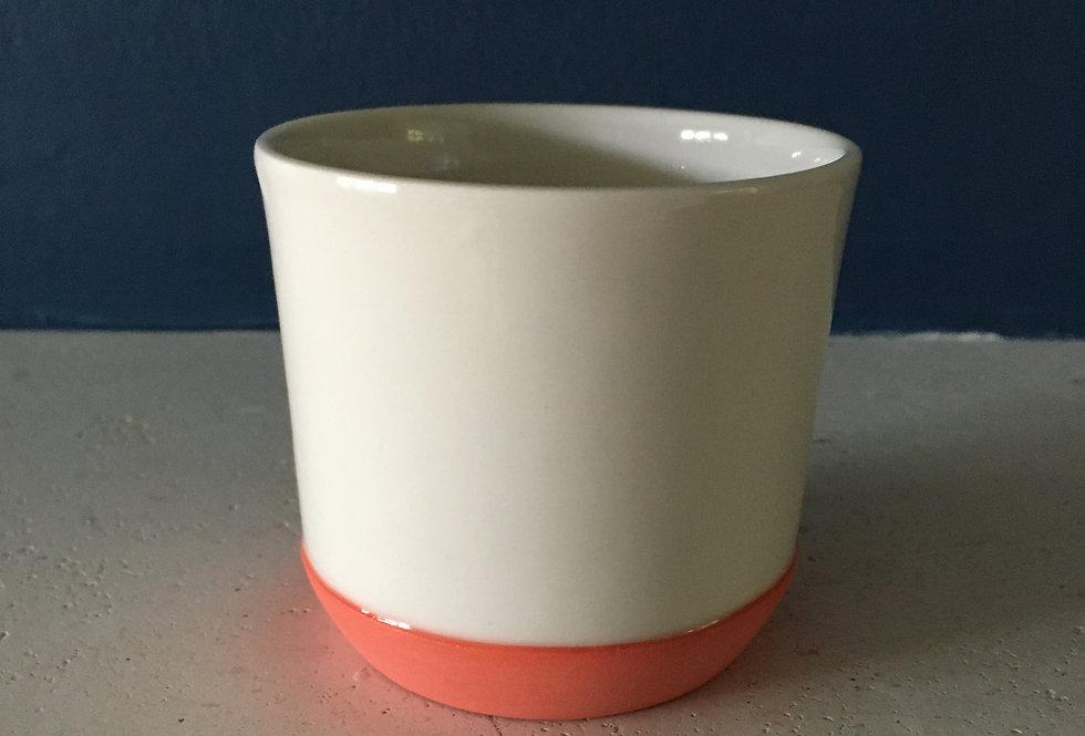 Porcelain handmade espresso / small tea cup- Adele Stanley