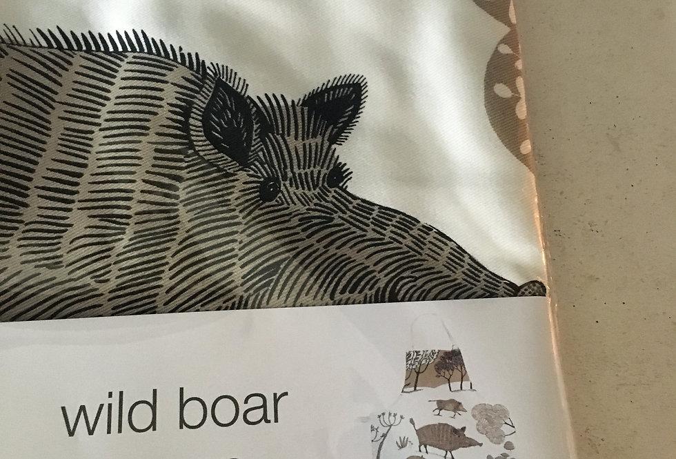 Wild Boar Apron - 100% cotton