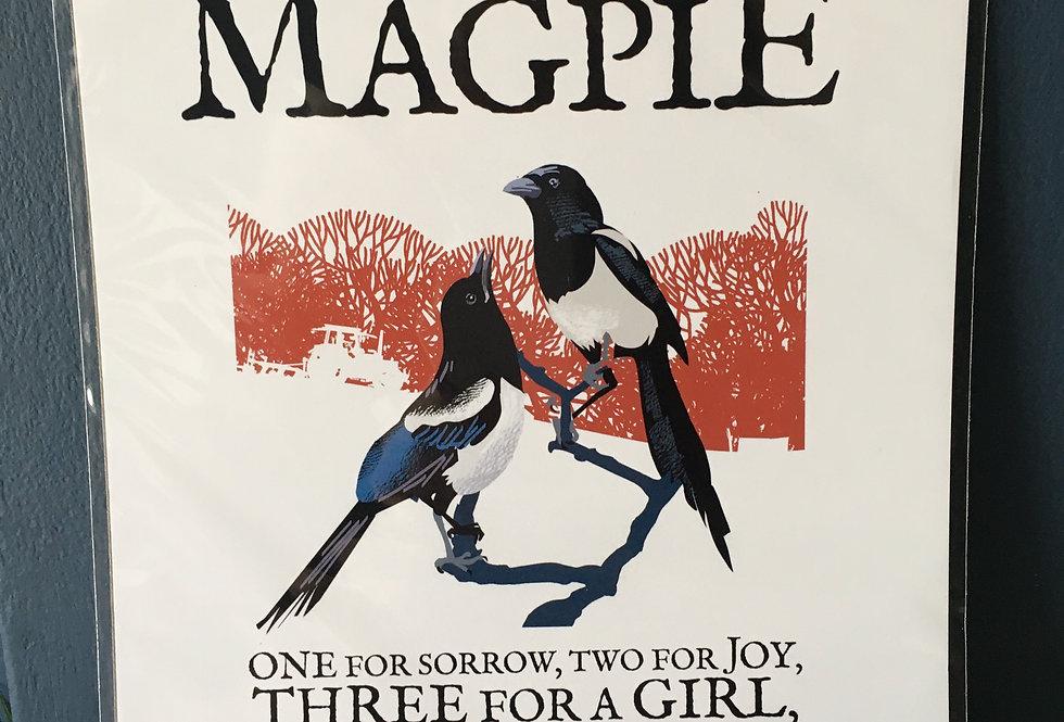 Birds of Ireland Series - The Magpie