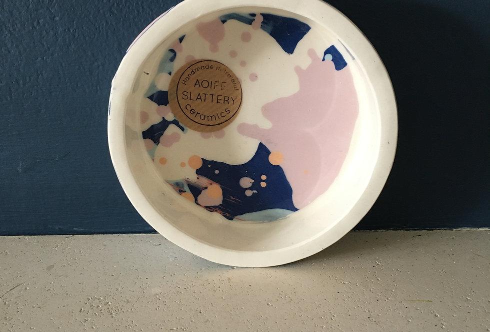 Pastel Tones Little Tapas/ Trinket Dish- AoifeSlattery