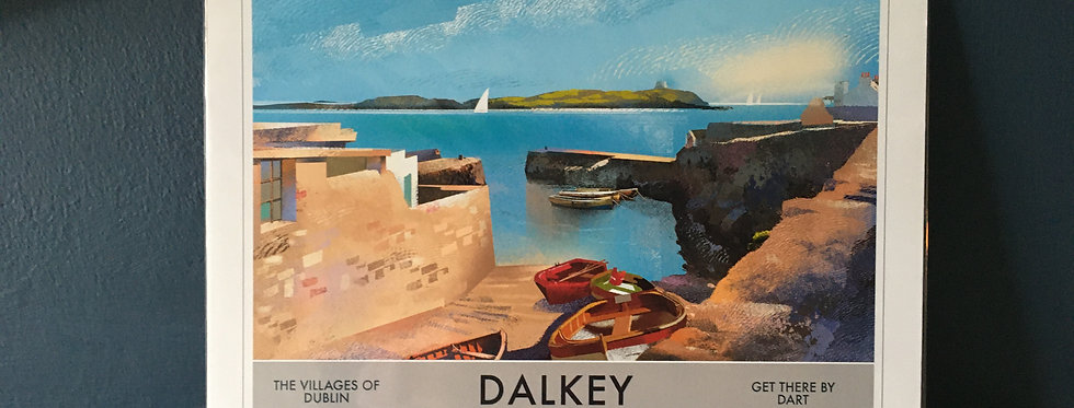 Dalkey- Villages of Dublin A4 Signed Artist Print
