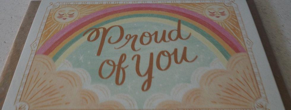 Irish Artist Card Proud of  You -  Rachel Corcoran