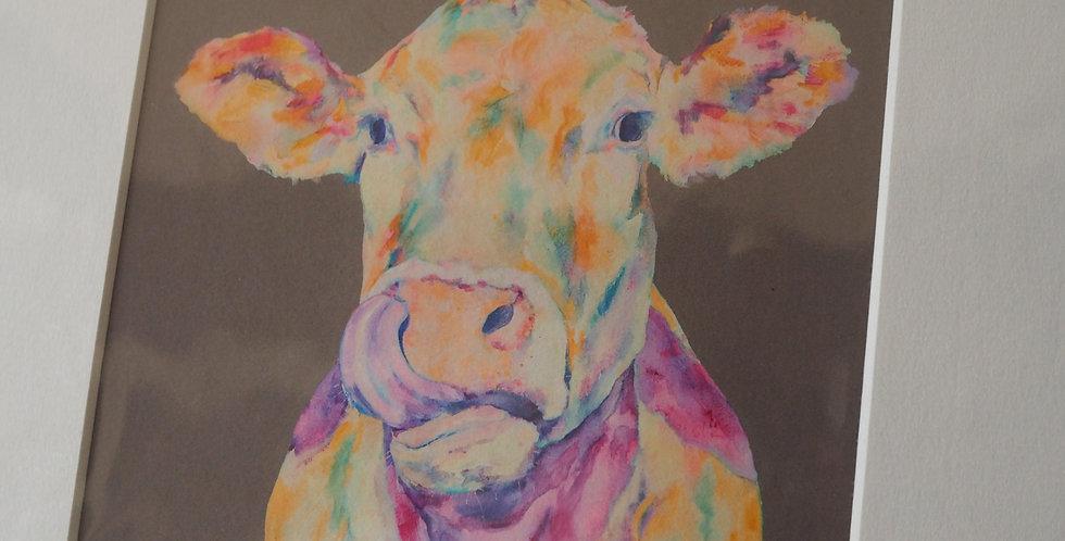 Lickety Moo Irish Artist Limited Edition Print- Lorraine Fletcher