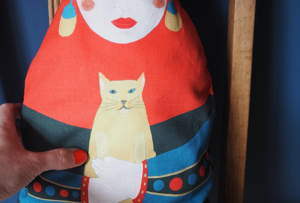 Frida Doll Cushion - Jokamin