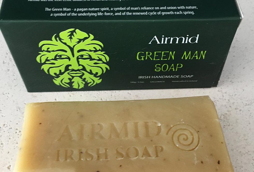 Plant Based Irish Handmade Green Man Soap