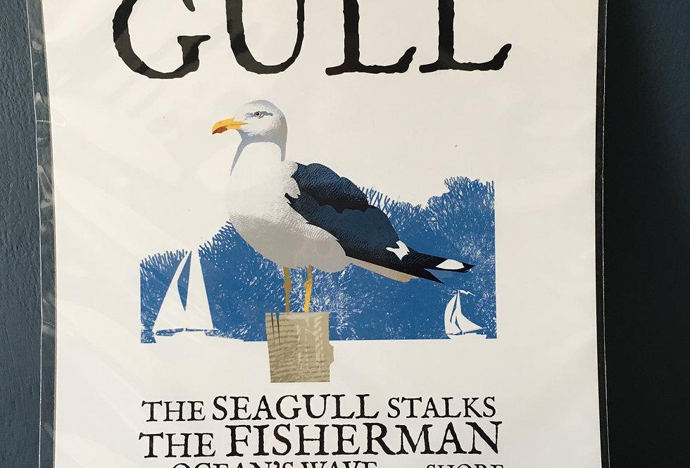Birds of Ireland Series - The Herring Gull