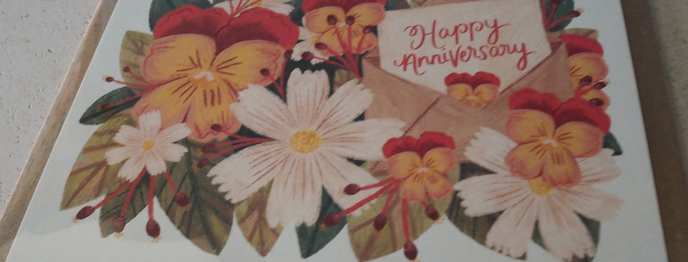 Happy Anniversary Irish Artist Cards- Rachel Corcoran