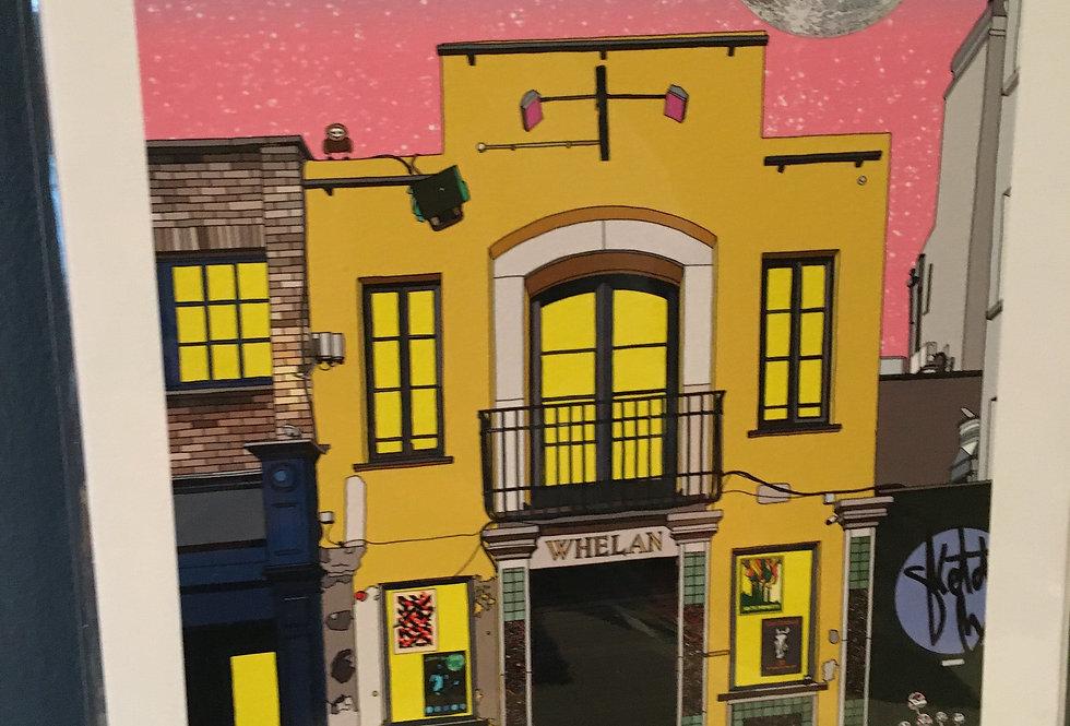 Whelans- Doors at 8 Artist Signed Limited Edition A4 Print- SketchyInc