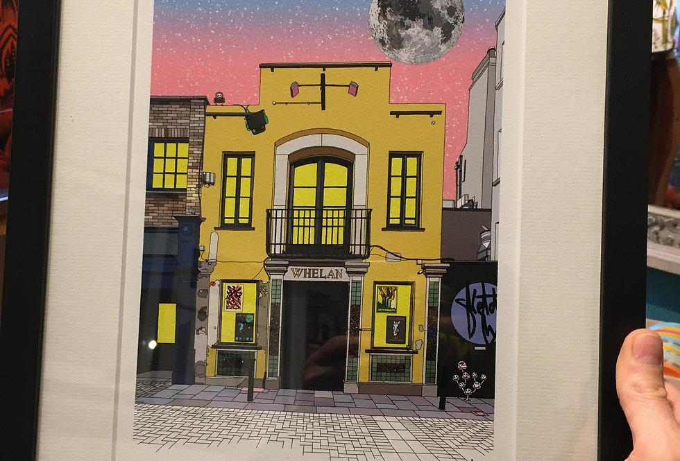 Whelans Limited Edition Fine Art Print A4 Framed- SketchyInc