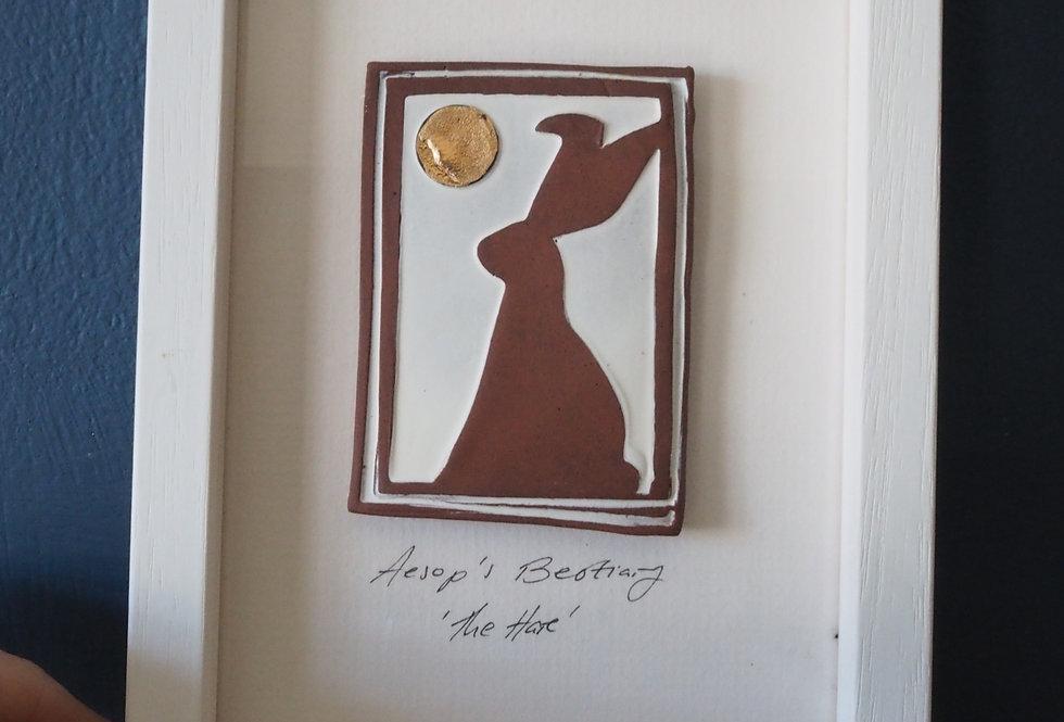 The Hare Small Framed Artwork KaroArt