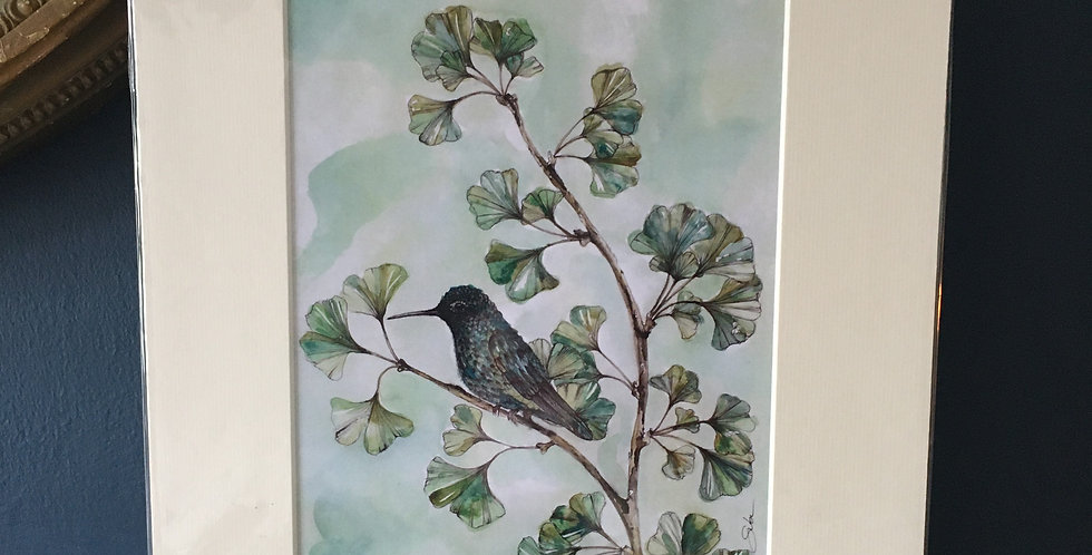 Hummingbird -Signed and Numbered Limited Edition Print