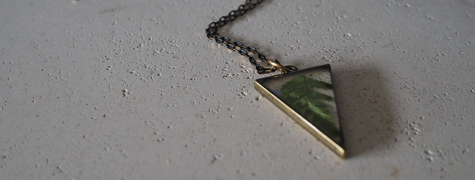 Wicklow Fern Unisex Botanical Jewellery