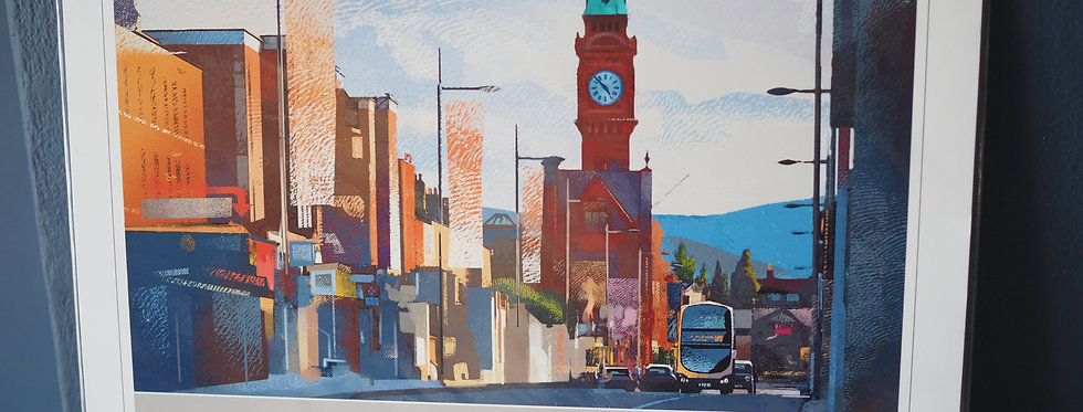 Rathmines- Villages of Dublin A4 Signed Artist Print