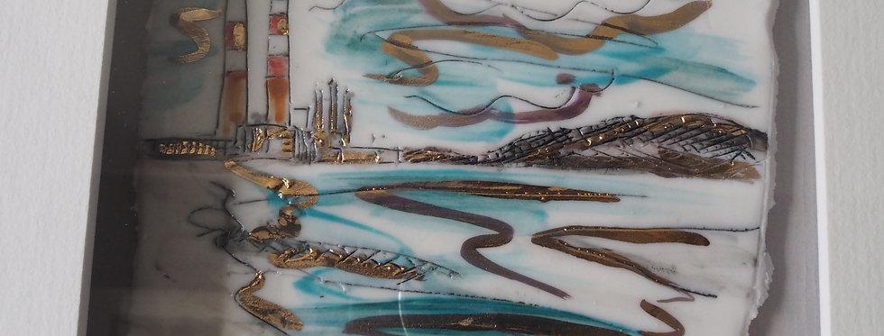 Poolbeg Signed Porcelain Artwork