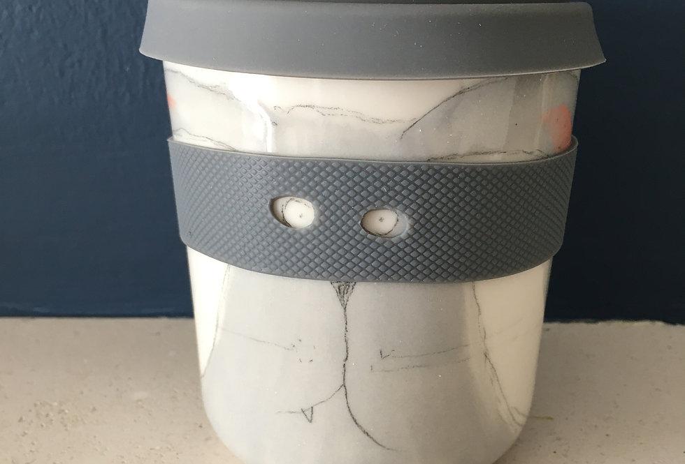 Handrawn Quirky Porcelain Keepcup-Karoart