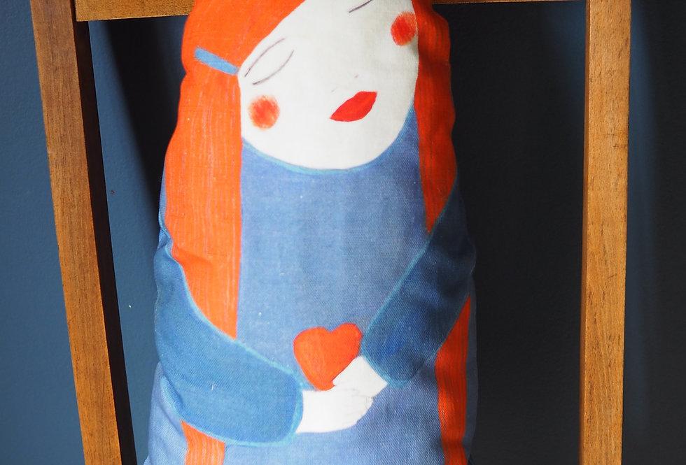 Self Love Doll Shaped Cushion- Jokamin