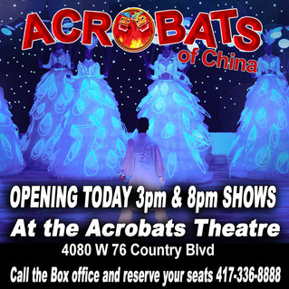 Opening Today! 3pm & 8pm Shows!