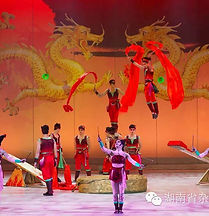 Hoop Diving Acrobats of china