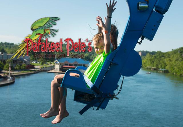 Parakeet Pete's Zipline