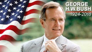 George W.H. Bush 1924-2018