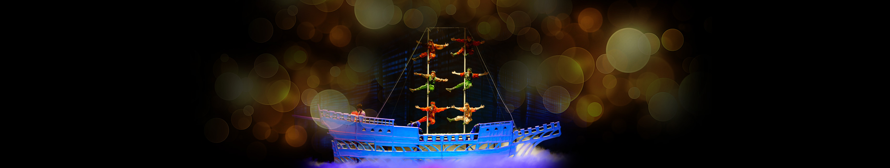 Acrobats of china Schedule