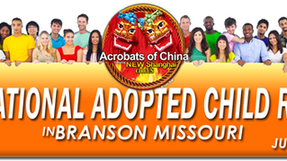 International Adopted Child Reunion in Branson MO July 18th