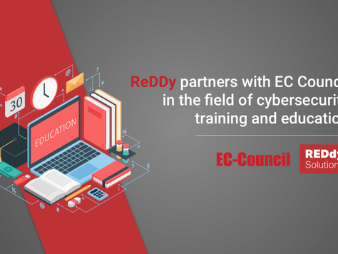 REDdy partners with EC Council in the field of cybersecurity training and education