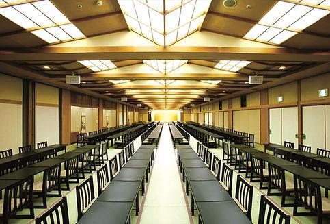 横谷温泉旅館,宴会場,八ヶ岳,