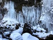 今年の氷瀑