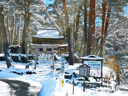 雪の木戸口神社