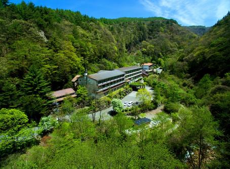 公式ホームページ、リニューアルしました。横谷峡は新緑の季節を迎えました。