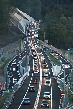 中部横断道・八千穂高原IC開通