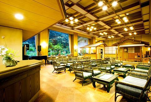 ロビー,横谷温泉旅館