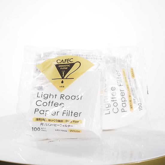 CAFEC Coffee Paper Filter by Roast Type
