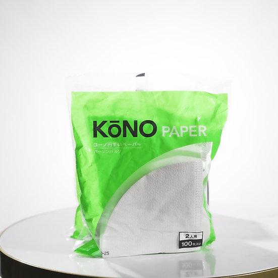 KONO - MD-25 filter paper (2/100pcs)