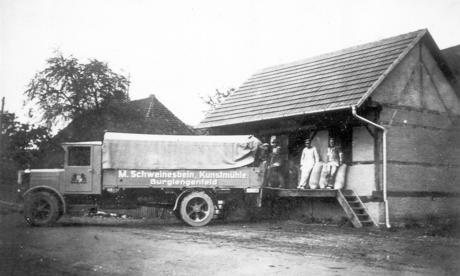 Lindenhof Lagerhaus ca. 1940