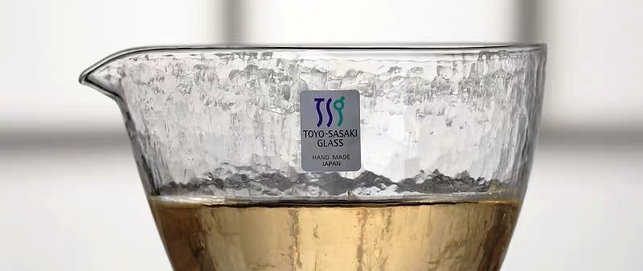 Toyo Sasaki Handmade Serving Glass