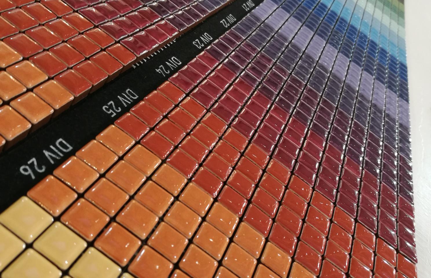 Mosaik Farbenmix