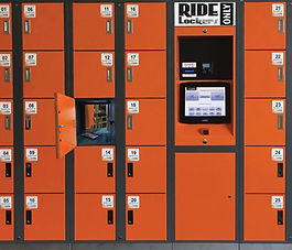 Ride Locker, Electronic Lockers, VLocker