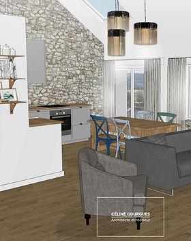 Renovation appartement pour un gîte en Ardèche